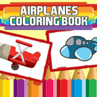 Airplanes Coloring Book
