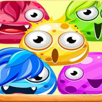 Monster color up game