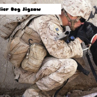 Soldier Dog Jigsaw