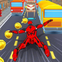 Subway Superhero Robot Endless Run