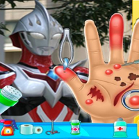 Ultraman Hand Doctor - Fun Games for Boys Online