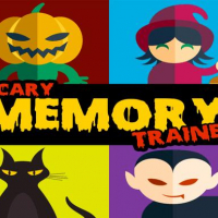 Halloween Pairs: Memory Game - Brain training
