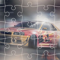 Japanese Racing Cars Jigsaw